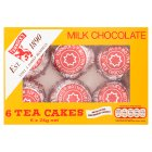 Tunnock's milk chocolate tea cakes - 6x24g Brand Price Match - Checked Tesco.com 16/04/2014