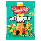 Maynards Bassetts midget gems sweets bag - 160g