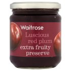 Waitrose red plum conserve - 340g