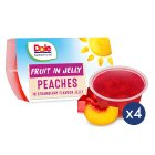 Dole Fruit & Jelly - Peach - 4x113g