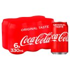 Coca-Cola mulitpack cans - 6x330ml