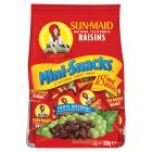 Sun-Maid mini-snack raisins, 18 boxes - 250g