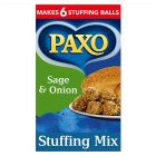 Paxo sage & onion stuffing mix - 85g Brand Price Match - Checked Tesco.com 01/07/2015