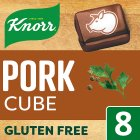 Knorr 8 pack pork stock cubes - 80g