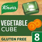 Knorr 8 pack vegetable stock cubes - 80g