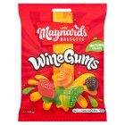 Maynards Bassetts Wine Gums sweets bag - 190g