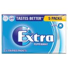 Wrigley's Extra peppermint sugarfree - 5x14g