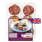 Waitrose 6 assorted mini burgers - 360g