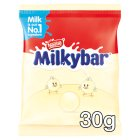 Milkybar Buttons white chocolate bag - each Brand Price Match - Checked Tesco.com 16/07/2014