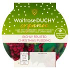 Duchy Originals from Waitrose Organic Christmas pudding - 100g