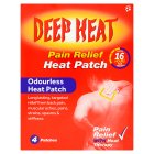 Deep Heat patch - 4s
