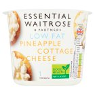 essential Waitrose low fat pineapple cottage cheese - 300g