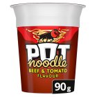 Pot Noodle - beef & tomato - 90g Brand Price Match - Checked Tesco.com 05/03/2014