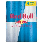 Red Bull sugarfree energy drink - 4x250ml Brand Price Match - Checked Tesco.com 27/07/2015