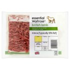 Waitrose Essential British lamb mince 10% fat - 200g