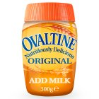Ovaltine original add milk jar - 300g Brand Price Match - Checked Tesco.com 03/08/2015