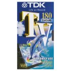 TDK TV180 video tape
