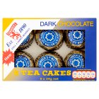 Tunnock's dark chocolate tea cakes - 6x24g