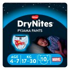Drynites Pyjama Pants, Boy age 4-7 yrs, 17-30kg - 10s Brand Price Match - Checked Tesco.com 10/03/2014