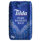Tilda pure basmati rice - 2kg Brand Price Match - Checked Tesco.com 26/01/2015