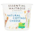 essential Waitrose low fat natural cottage cheese - 300g