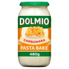Dolmio Pasta Bake carbonara sauce - 480g Brand Price Match - Checked Tesco.com 10/03/2014