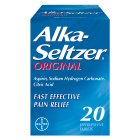 Alka seltzer original - 20s Brand Price Match - Checked Tesco.com 16/07/2014