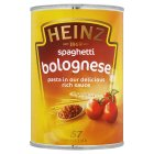 Heinz spaghetti bolognese - 400g Brand Price Match - Checked Tesco.com 05/03/2014