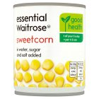 essential Waitrose canned sweetcorn - drained 160g