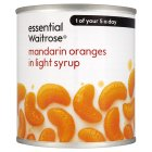 essential Waitrose Mandarin Oranges (in syrup) - 312g