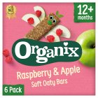 Organix organic raspberry & apple goodies bars - 6x30g