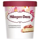 Haagen Dazs strawberry cheesecake - 500ml Brand Price Match - Checked Tesco.com 17/12/2014
