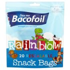 Baco rainbow snack bags small - 20s Brand Price Match - Checked Tesco.com 22/07/2015