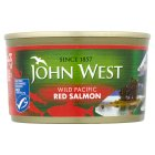 John West wild red salmon - 213g Brand Price Match - Checked Tesco.com 03/02/2016