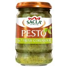 Sacla' fresh coriander pesto - 190g Brand Price Match - Checked Tesco.com 02/05/2016
