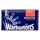 Warburtons medium sliced white bread - 800g