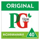 PG Tips pyramid 40 tea bags