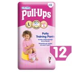 Huggies Pull Ups Potty Training Pants, Girl, Large 16-23kg - 12s