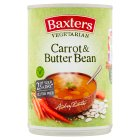 Baxters Vegetarian carrot & butterbean soup - 400g Brand Price Match - Checked Tesco.com 09/07/2014
