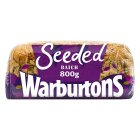 Warburtons seeded batch loaf - 800g