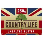 Country Life British unsalted butter - 250g Brand Price Match - Checked Tesco.com 02/12/2013