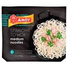 Amoy straight to wok medium noodles - 4x150g Brand Price Match - Checked Tesco.com 16/07/2014