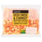 essential Waitrose diced carrot & swede - 450g