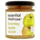 Waitrose Bramley apple sauce - 180g