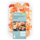 Waitrose extra large tiger prawns - 140g