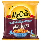 McCain potato winners sea salt & pepper wedges - 750g