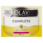 Olay Essentials Complete Care Moisturiser Daily UV Cream SPF15 - 50ml