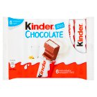 Kinder chocolate snack bars - 126g