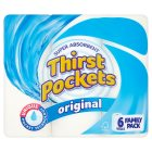 Thirst Pockets white kitchen towels - 6s