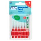 TePe interdental brush 0.5mm - 6s Brand Price Match - Checked Tesco.com 04/12/2013